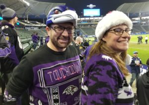 Baltimore-Ravens-fans-in-Carson-NFL-Road-trip