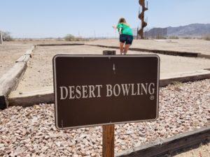 Desert-Bowling