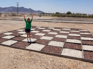 Desert-Checkers